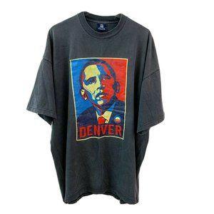 OBAMA 2008 DNC Denver Graphic Tshirt 4XL